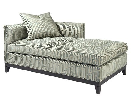 Recent Upholstered Chaise Lounges Inside Best Upholstered Chaise Lounge Design Guy High Point Furniture (View 7 of 15)