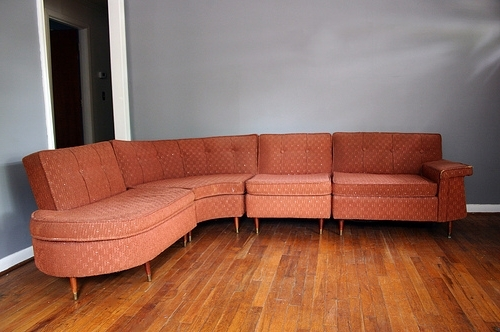 Featured Photo of Vintage Sectional Sofas