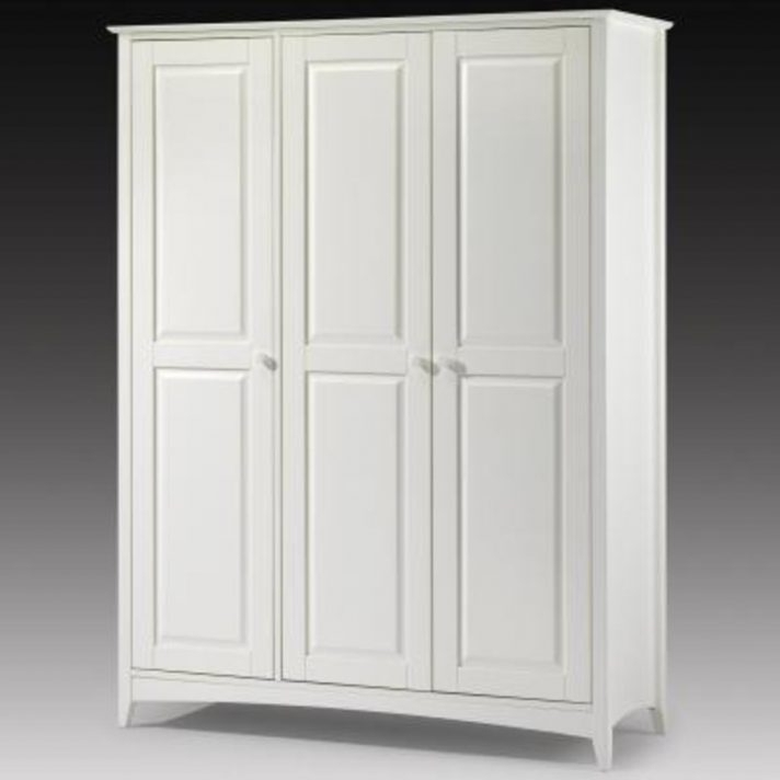 Recent White Wooden Wardrobe Wood Effect Doors With Drawers Bathroom Within White Wooden Wardrobes (View 9 of 15)