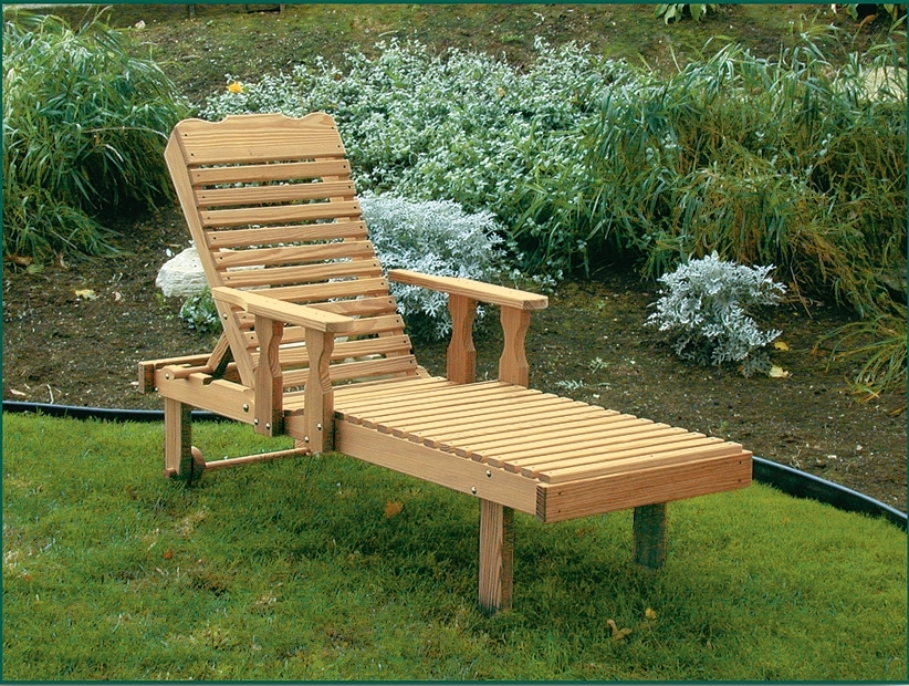 Featured Photo of Wooden Chaise Lounges