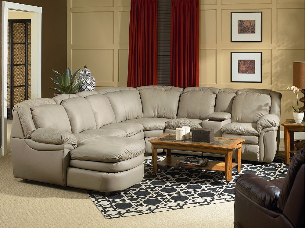 Reclining Sectionals With Chaise For Widely Used Lane Home Theater Stallion Reclining Sectional With Chaise Chair (View 8 of 15)