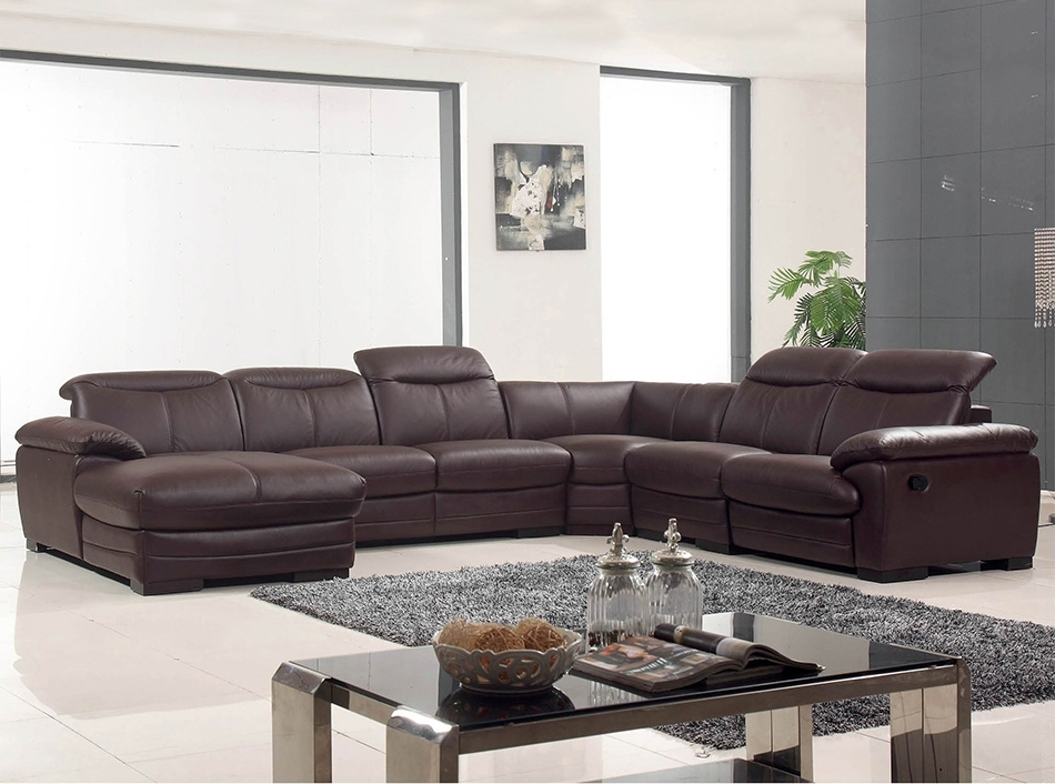 Reclining U Shaped Sectionals Throughout Well Liked Large U Shaped Sectional Sofa – Home Design Ideas And Pictures (View 2 of 10)