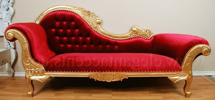 Red Chaise Lounges Regarding Newest Victorian Chaise Lounge Chaise Lounge Pinterest Victorian Red (View 13 of 15)