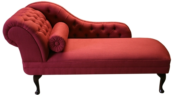 Red Chaises Throughout Most Popular Enjoyable Red Chaise – Home Designing (View 13 of 15)