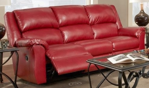 Red Leather Couches And Loveseats Throughout Favorite Inspiring Leather Reclining Sofa And Loveseat The Best Reclining (View 5 of 10)