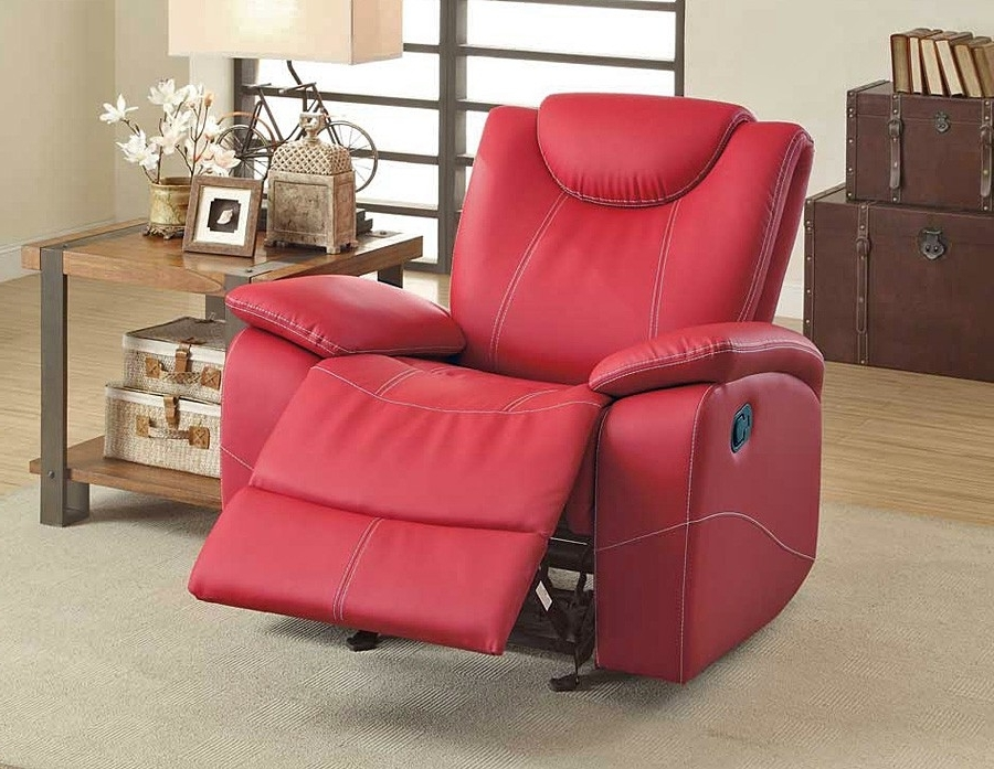 Red Leather Reclining Sofa Sofas 4 – Quantiply (View 11 of 17)