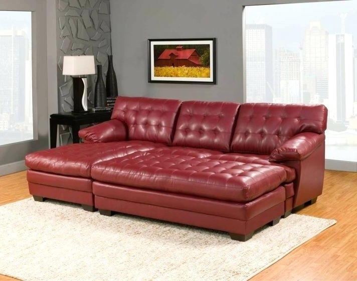Red Leather Sofa Living Room Ideas Wwwredglobalmxorg Red Leather Intended For Most Popular Red Leather Couches And Loveseats (View 7 of 10)