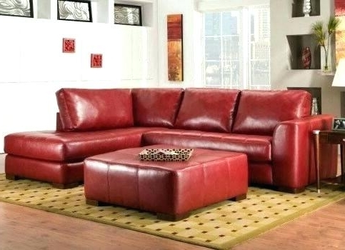 Red Sectional Sofa (View 9 of 10)