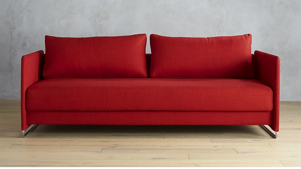Red Sleeper Sofas With Regard To Popular Good Red Sleeper Sofas 90 On Platform Sleeper Sofa With Red (View 9 of 10)