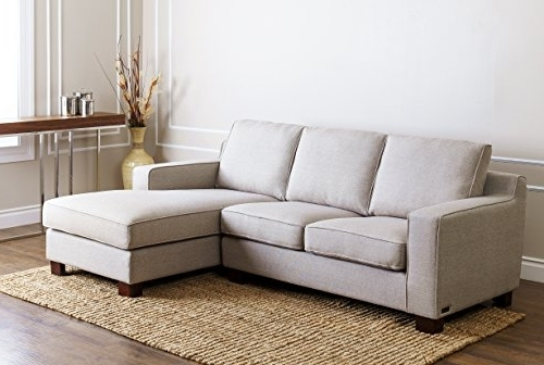 Regina Sectional Sofas For Most Popular Amazon: Abbyson Regina Fabric Sectional Sofa, Grey: Home & Kitchen (View 8 of 10)