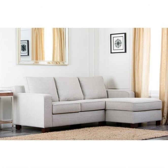 Regina Sectional Sofas For Most Recent Abbyson Living Regina Fabric Sectional Sofa In Gray ( Abbyson (View 9 of 10)
