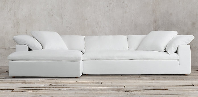 Restoration Hardware Sectional Sofa Amazing Collections Rh With Regard To Popular Restoration Hardware Sectional Sofas (View 4 of 10)