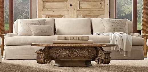 Restoration Hardware Sectional Sofas Inside Most Current Sectional Sofa  Design Amazing Restoration Hardware Sectional Sofa (