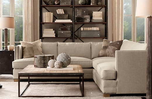 Restoration Hardware Sectional Sofas Throughout Popular Restoration Hardware Sofa Reviews Restoration Hardware Lancaster (View 8 of 10)