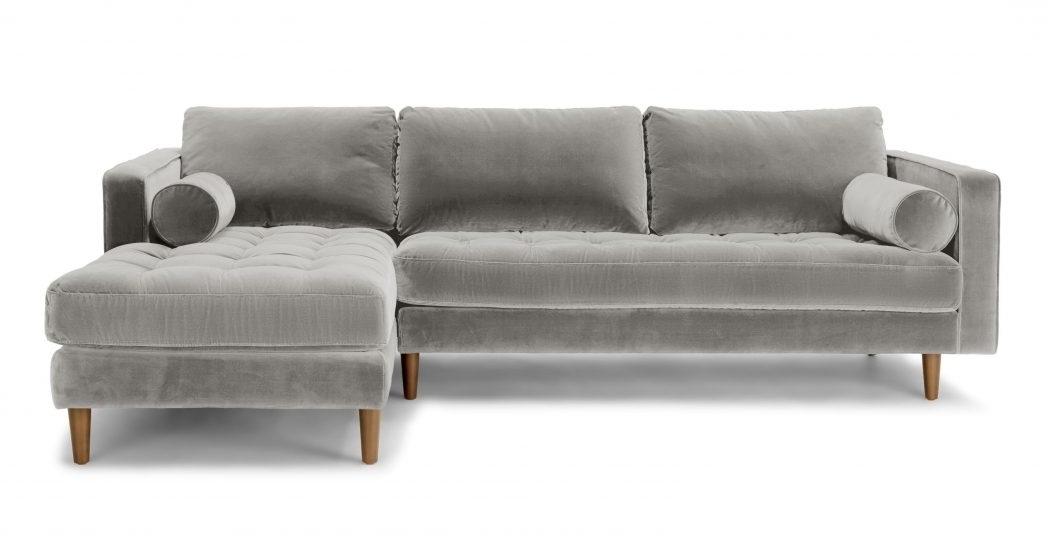 Right Sectional Sofa Sven Intuition Gray Scandinavian Furniture Regarding Preferred Regina Sectional Sofas (View 10 of 10)