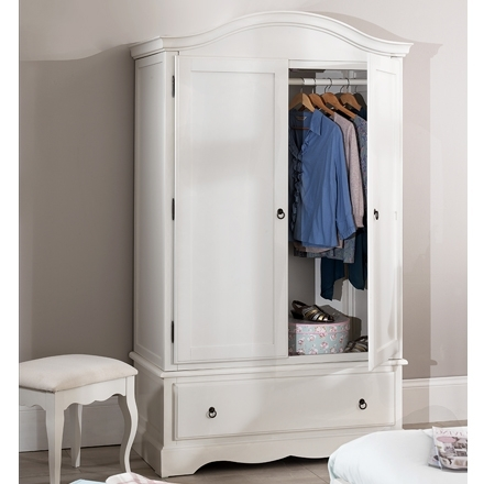 Romance Shabby Chic Bedroom Furniture, Chest Of Drawers, Bedside For Fashionable Shabby Chic White Wardrobes (View 8 of 15)