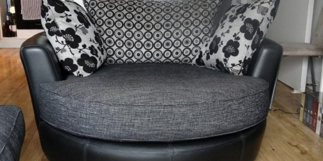 Rotating Sofa Chair – Home And Textiles Regarding 2017 Round Swivel Sofa Chairs (View 4 of 10)
