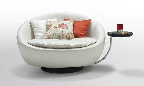 Round Chaise Lounge (View 8 of 15)
