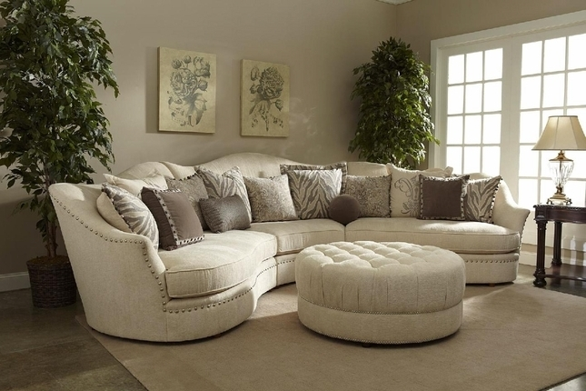 Round Sectional Sofas With Widely Used Curved Sectional Sofa You Can Add Curved 5 Seater Sofa You Can Add (Gallery 7 of 10)