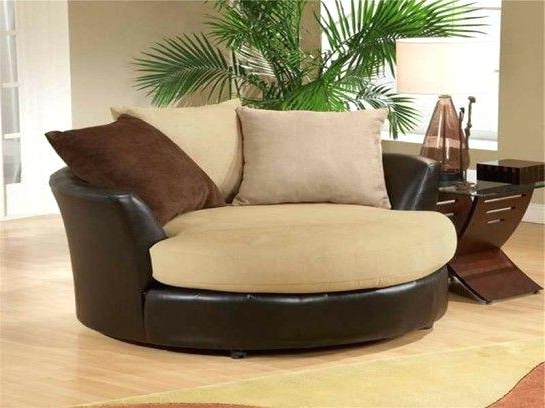 Round Swivel Sofa Chairs With Regard To Well Liked Round Swivel Chair – Mymatchatea (View 7 of 10)