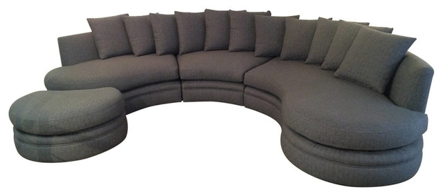 Rounded Sofas Inside Fashionable The Importance Of Round Sofa – Bellissimainteriors (View 5 of 10)