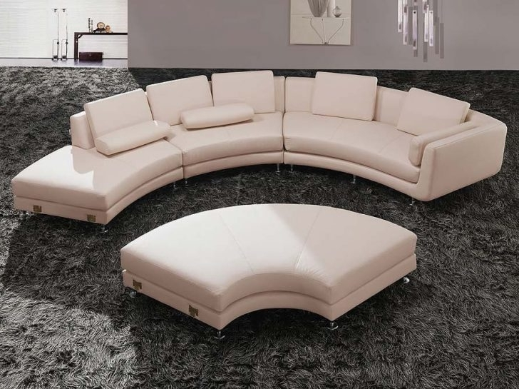 Rounded Sofas With Regard To Most Current Circular Sectional Sofa Modern Fresh Rounded Buildsimplehome (View 8 of 10)