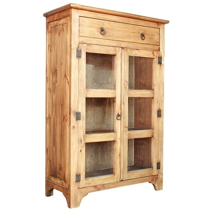 Rustic Pine Pertaining To Pine Wardrobes With Drawers And Shelves (View 12 of 15)