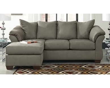 Sam Levitz Sectional Sofas Inside Most Up To Date Contemporary Plush Chaise Sofa – Grey – Sam Levitz Furniture (View 7 of 10)