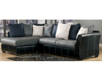 Sam Levitz Sectional Sofas Intended For Most Current Contemporary 2 Piece Sectional – Two Tone Grey – Sam Levitz (View 8 of 10)
