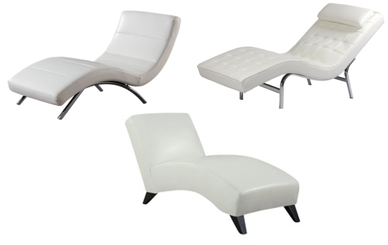 Sanblasferry With Regard To Favorite White Leather Chaises (View 11 of 15)