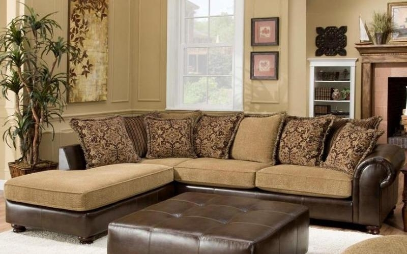 Sanblasferry Within Sectional Sofas With Chaise Lounge And Ottoman (View 7 of 10)