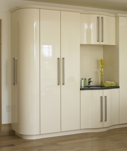 Saturn High Gloss Replacement Bedroom Doors Pertaining To Widely Used Cream Gloss Wardrobes Doors (View 11 of 15)