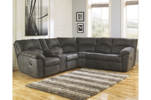 Save Space And Add Comfort In Your Homesectional Sofas With Intended For Most Recent Sectional Sofas With Recliners (View 7 of 10)
