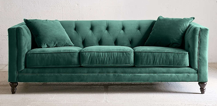 Searching For The Perfect Velvet Sofa With Most Recent Velvet Sofas (View 7 of 10)