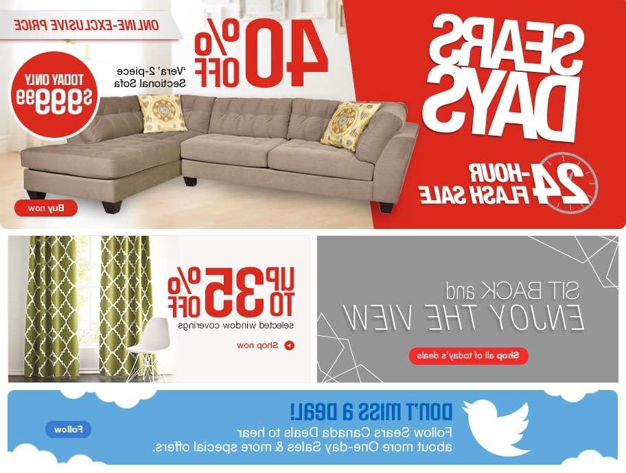 [%Sears Days Canada 24 Hour Flash Sale: Save 40% Off Verta 2 Piece Within Trendy Sears Sectional Sofas|Sears Sectional Sofas Regarding Most Recently Released Sears Days Canada 24 Hour Flash Sale: Save 40% Off Verta 2 Piece|Most Up To Date Sears Sectional Sofas For Sears Days Canada 24 Hour Flash Sale: Save 40% Off Verta 2 Piece|Famous Sears Days Canada 24 Hour Flash Sale: Save 40% Off Verta 2 Piece For Sears Sectional Sofas%] (View 1 of 10)