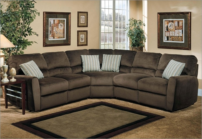 Sectional Couch Microfiber Microsuede Sectional Sofa Fantastic With Recent Microfiber Sectional Sofas (View 9 of 10)