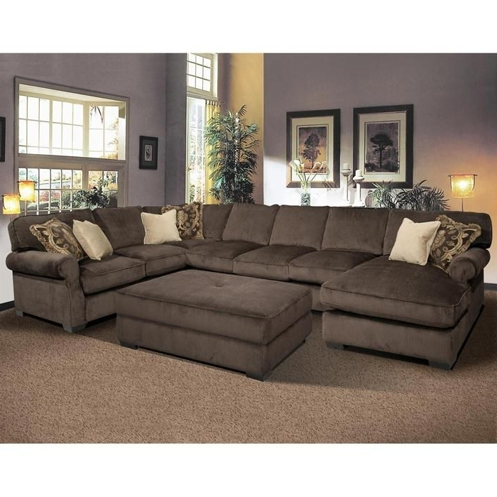 Sectional Sofa And Ottoman My Dream Couch For The Family Room With Within 2018 Sectional Sofas With Chaise And Ottoman (View 4 of 10)