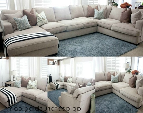 Sectional Sofa: Awesome Deep Seat Sectional Sofa Ideas Extra Deep Pertaining To Fashionable Deep Seating Sectional Sofas (View 9 of 10)