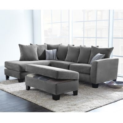 Sectional Sofa Design: 2 Piece Sectional Sofa With Chaise Sleeper Inside Best And Newest 2 Piece Sectional Sofas With Chaise (View 5 of 15)