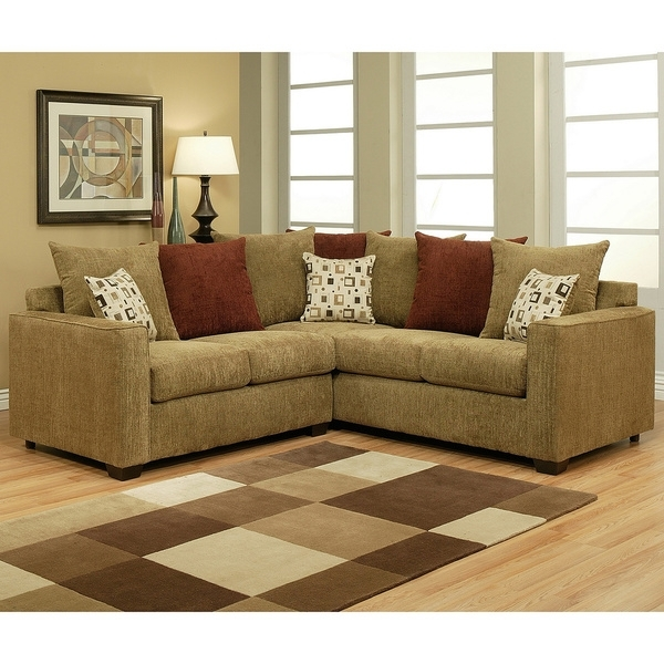 Sectional Sofa Design: Best Small 2 Piece Sectional Sofa 2 Piece In 2017 2 Piece Sectionals With Chaise (View 8 of 15)