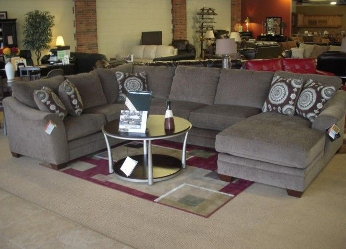 Sectional Sofa Design: Cool Image For Small U Shaped Sectional Inside Well Known Small U Shaped Sectional Sofas (View 7 of 10)