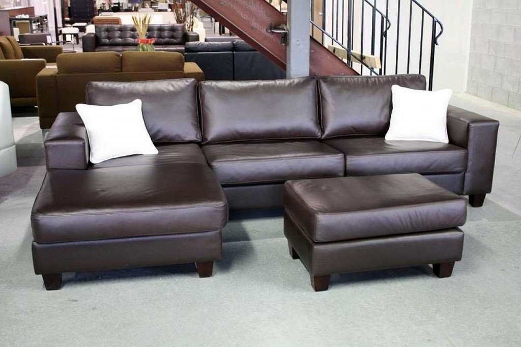 Sectional Sofa Design: Glamour Leather Sectional Sofas On Sale Pertaining To Well Known Canada Sale Sectional Sofas (View 9 of 10)