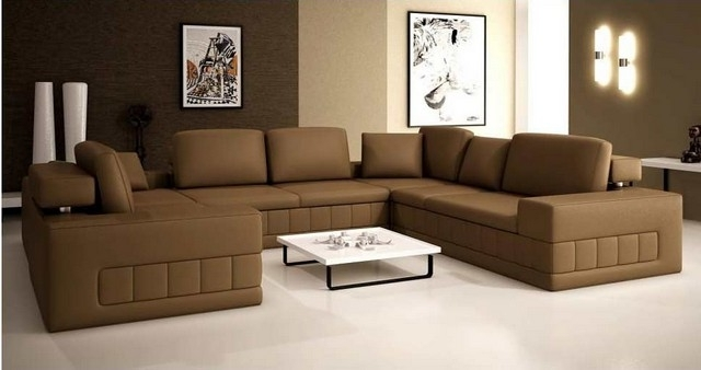 Sectional Sofa Design: Ideas Extra Large Sectional Sofas Best Ever Inside Favorite Extra Large U Shaped Sectionals (View 9 of 10)