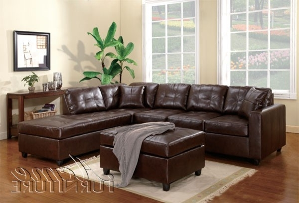 Sectional Sofa Design: Most Adorable Brown Leather Sectional Sofas Pertaining To Best And Newest Brown Sectionals With Chaise (View 3 of 15)