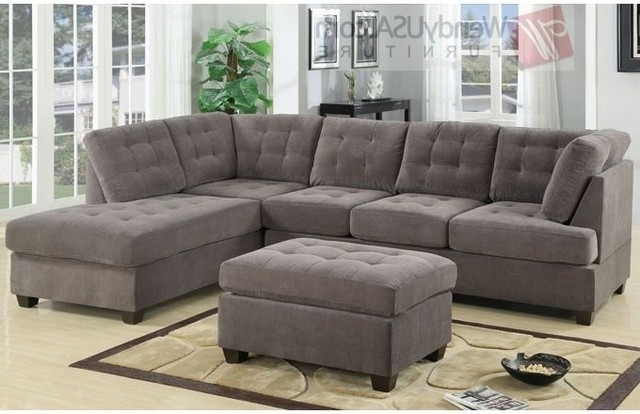 Sectional Sofa Design: Simple Extra Deep Sectional Sofas Extra Pertaining To Popular Sectional Couches With Chaise (View 13 of 15)