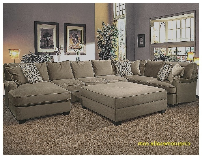Sectional Sofa : Sectional Sofa With Oversized Ottoman Lovely In Favorite Sectional Sofas With Oversized Ottoman (View 3 of 10)
