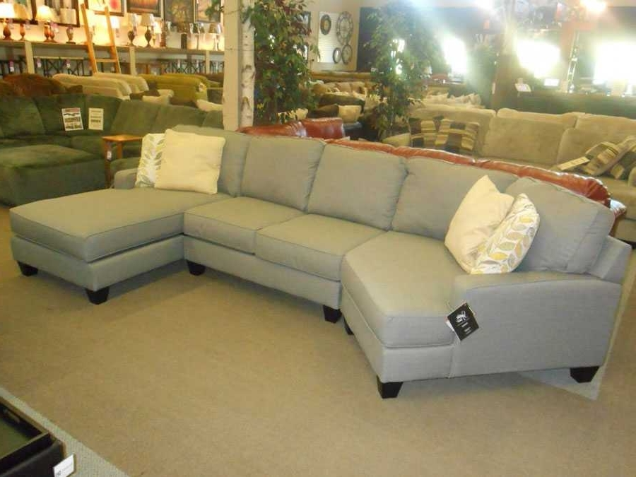 Sectional Sofa With Cuddler Chaise Ideas And Incredible Leather In Well Known Sectional Sofas With Cuddler (View 6 of 10)