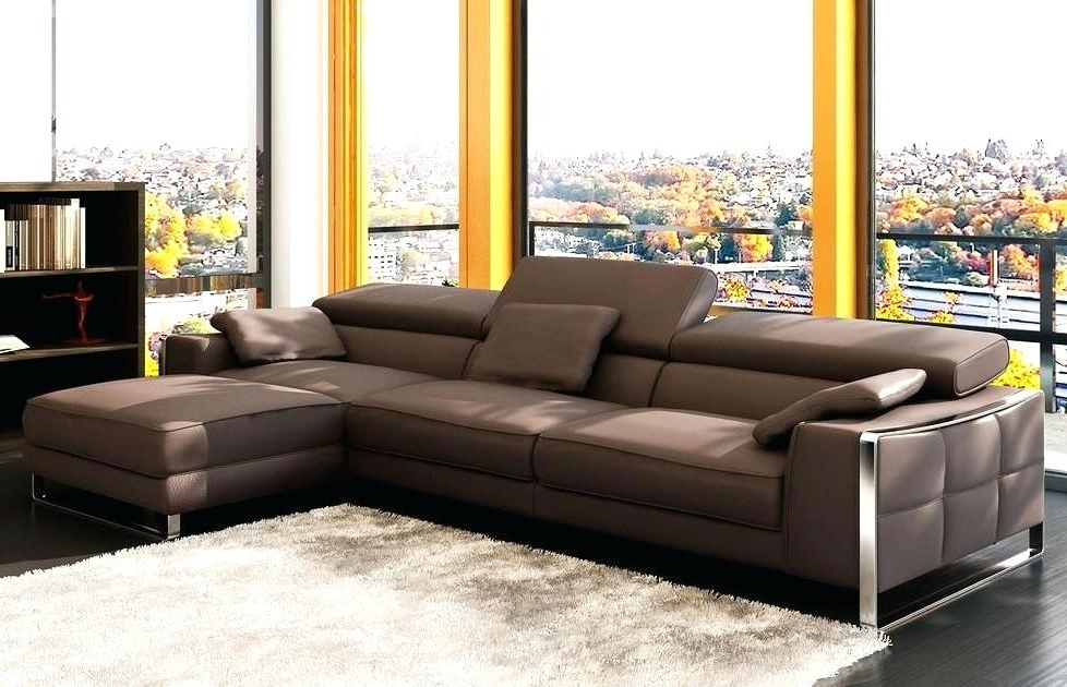 Sectional Sofas At Bangalore For Current Modern Sectional Couches Brown Contemporary Sectional Sofas Modern (View 7 of 10)