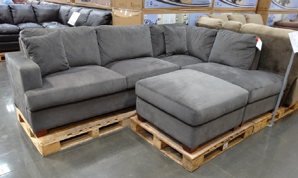 Sectional Sofas At Costco Within 2018 Gray Sectional Sofa Costco (View 9 of 10)