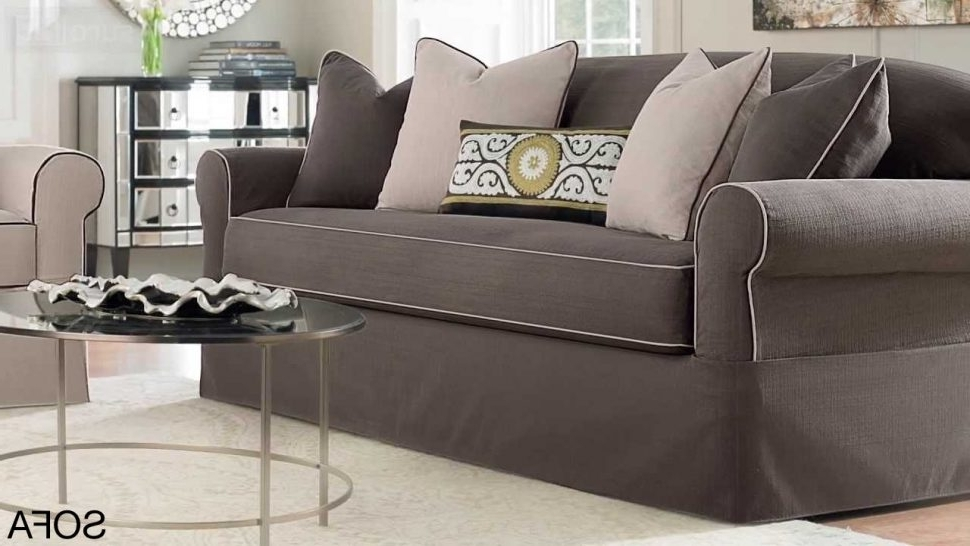 Sectional Sofas At Ebay Intended For Most Recently Released Sofa Slipcover : Slipcovers For 3 Piece Sectional Sofas Charcoal (View 4 of 10)